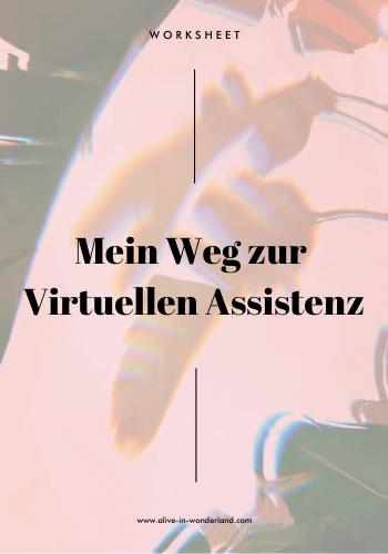 Worksheet Mein Weg zur Virtuellen Assistenz