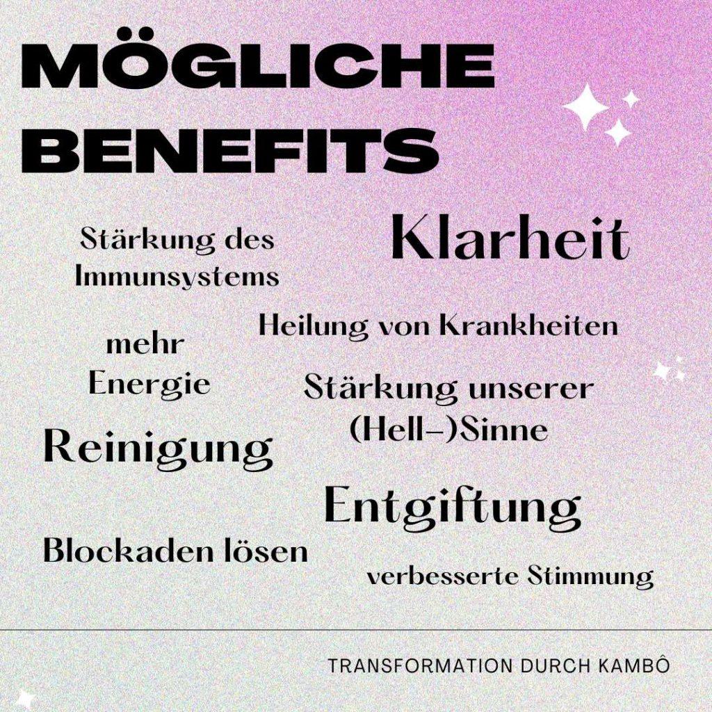 Infografik: Mögliche Benefits