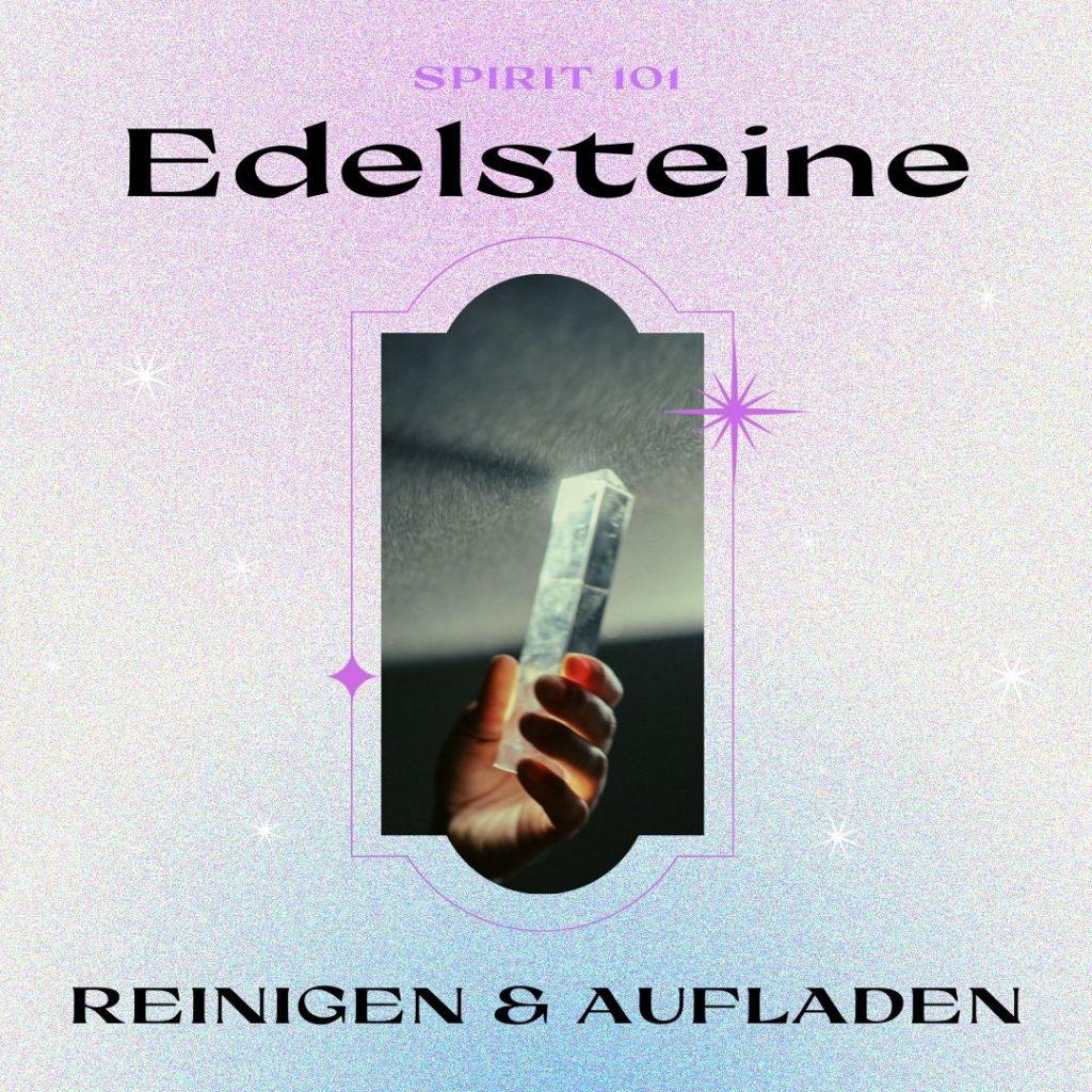 Read more about the article Edelsteine reinigen und aufladen