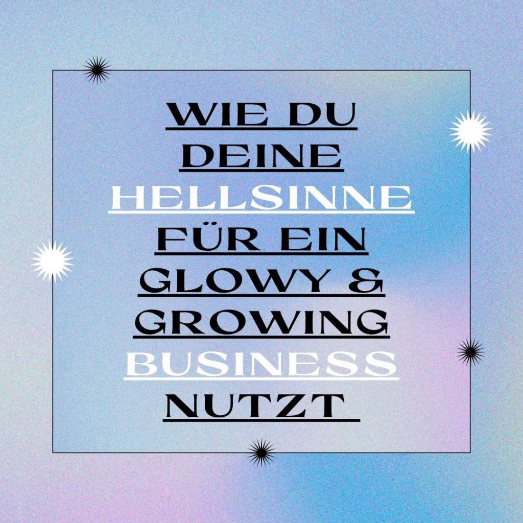 Read more about the article Hellsinne im Business nutzen