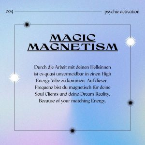 Magic Magnetism hellsinne-trainieren-business